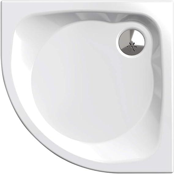 Plato de ducha, círculo cuarto 80 x 80 cm | Nordona® SIMPLEX PLUS ...