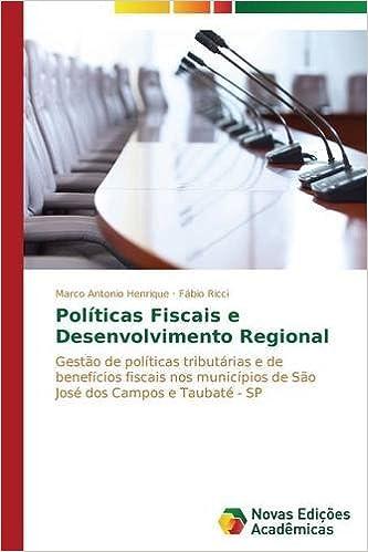 Book Políticas Fiscais e Desenvolvimento Regional (Portuguese Edition)