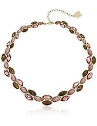 "Anne Klein ""Sandy Shores"" Gold-Tone Multi-Collar Necklace, 17"" + 3"" Extender"