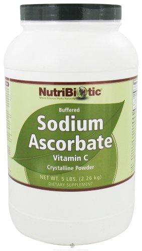 Nutribiotic порошок аскорбат натрия, 5 Фунт