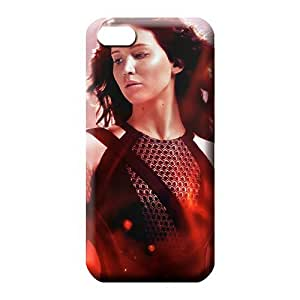 iphone 5c Scratch-free phone cover case Forever Collectibles Attractive Katniss In The Hunger Games Catching Fire Coverhot At Diy