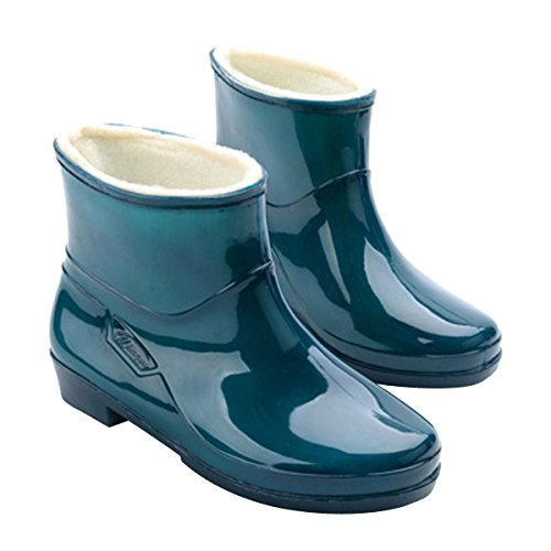 Waterproof Winter Green Boots Ankle VFDB Snow Rain Booties Platform Womens R6wnaCq