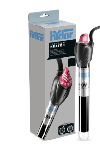 Hydor 25W Submersible Glass Aquarium Heater - Original Theo by Hydor