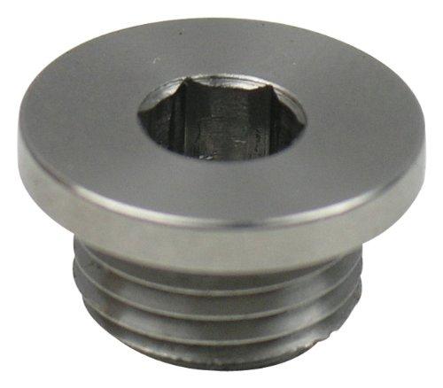 - TiAL MVS/MVR Wastegate Port Plug, 304 Stainless Steel
