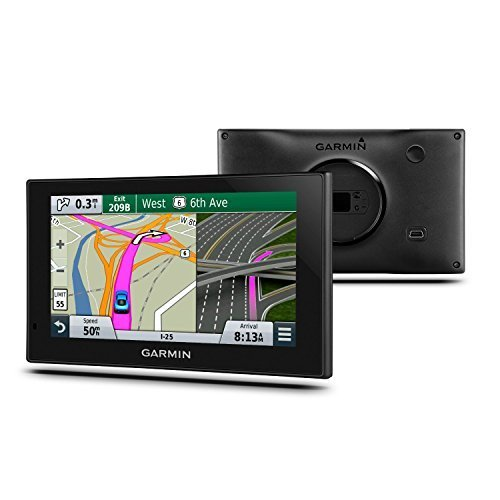 Garmin Nuvi 2689LMT 6.1-Inch Bluetooth GPS Navigator - (Renewed)(Black)