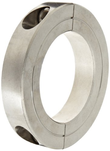 Climax Metal H2C-125-S Shaft Collar, Two Piece, Stainless Steel, 1-1/4
