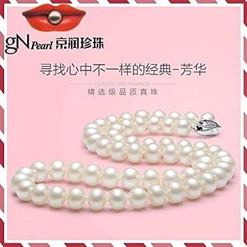 XIONGZ Collar de Perlas Collar de Perlas Fanghua Cerca de ...