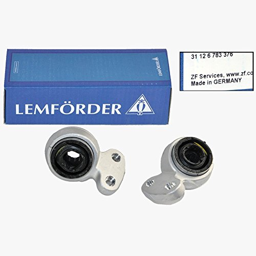BMW Lower Control Arm Bushing Kit Set Front Suspension Lemforder OEM ()