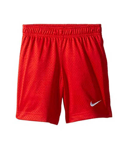 Nike Kids Boy's Essential Mesh Shorts (Little Kids) University Red 7