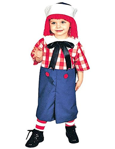 Morris Costumes Raggedy Andy Child 4 To -