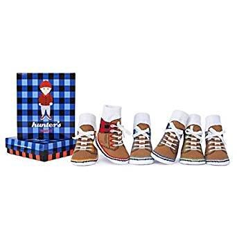 Trumpette Baby Boys' Hunter's Socks (Baby) - Assorted - 0-12 Months (Boys Trumpette Socks)