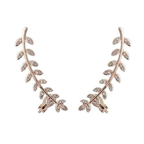 Y-HUA Metal Ladies Necklace Jewelry with Clamps Pink