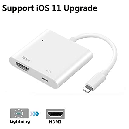 iphone to hdmi adapter. iphone ipad to hdmi adapter, lightning 8-pin female video digital av iphone hdmi adapter -