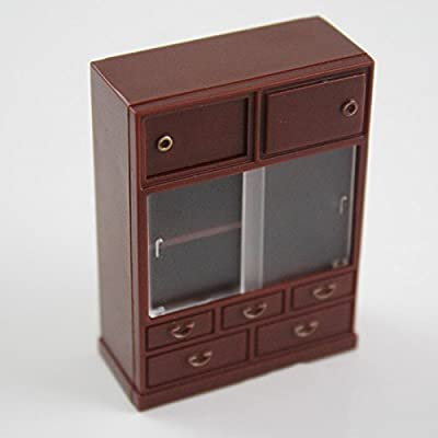 Odoria 1:24 Vintage Japanese Furniture Dollhouse Miniature Accessories: Toys & Games