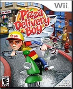 MaJesco Pizza Delivery Boy (Nintendo Wii) for Nintendo Wii for Age - All Ages (Catalog Category: Nintendo Wii / Simulations) by Majesco