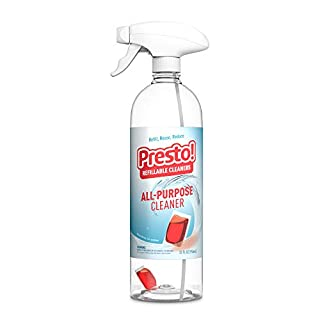 Presto! by Amazon: All-Purpose Cleaner Starter Kit (1 reusable spray bottle, 1 refill pac), Refill, reuse, reduce