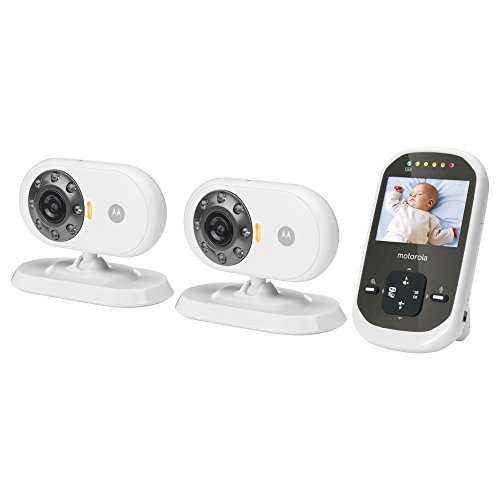 motorola mbp25 2 wireless video baby monitor. Black Bedroom Furniture Sets. Home Design Ideas