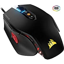 CORSAIR M65 Pro RGB - FPS Gaming Mouse - 12,000 DPI Optical Sensor - Adjustable DPI Sniper Button - Tunable Weights - Black