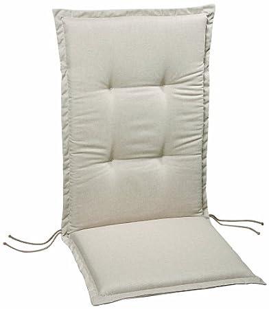 Best 05191230 - Cuscino per sedia con schienale alto, dimensioni ...