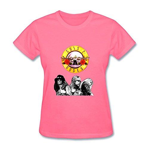S6HFHQ Guns N Roses Sweet Child O Mine Greatest Hits Women's T-Shirts (Guns N Roses Sweet Child Of Mine Tab)