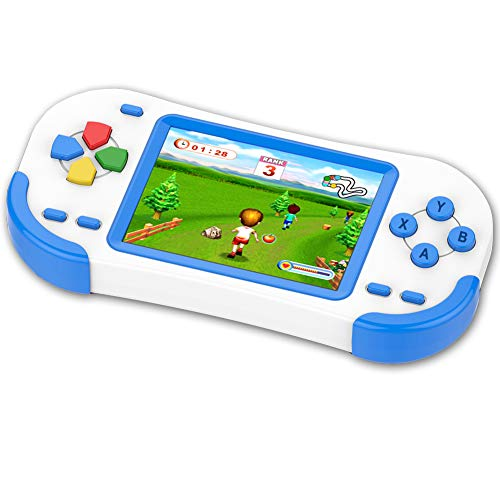 TEBIYOU Handheld Game Console for Kids Portable Video Game Player with Built in 16 Bit 220 HD Classic Games 3.0
