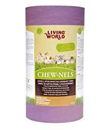 Living World Chew-nels, Cardboard with Stuffing, Large