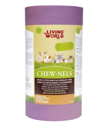 Living World Chew-nels, Cardboard with Stuffing, Large by Living World