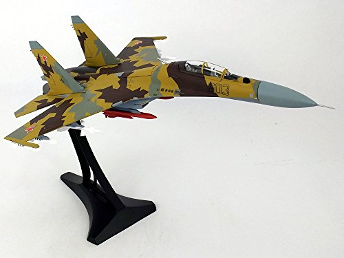 Su-30 (Su-30MK) Flanker-C Russian Air Force - With Display Stand - 1/72 Diecast Model