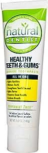 Natural Dentist, Healthy Teeth Gums, Fluoride Toothpaste, Peppermint Twist, 5.0 oz (142 g)