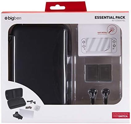 BigBen - Starter Pack De Accesorios I Black (Nintendo Switch ...