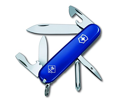 Victorinox Swiss Army Tinker Cub Scout Pocket Knife, Blue