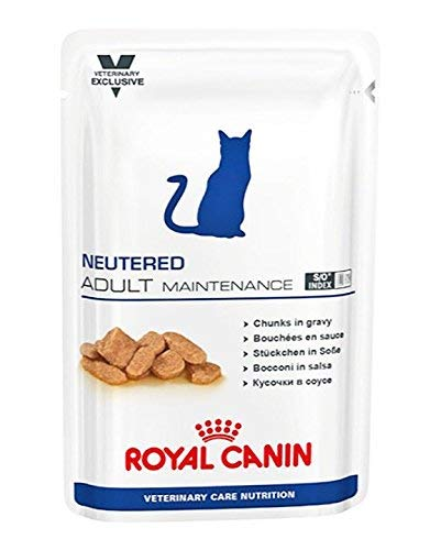 Royal Canin Neutered Adult Maintenance, Comida de gato, 100 g, pack de 12: Amazon.es: Productos para mascotas