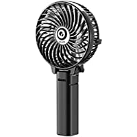 Digoo DF-003 Potable Mini Handheld Rechargeable Rotatable USB Cooling Fan Stepless Speed Regulating
