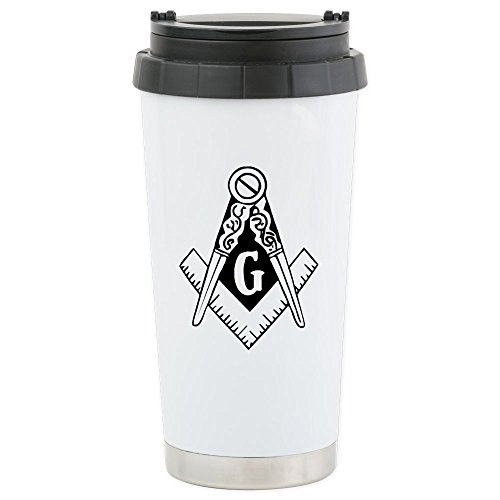 - CafePress - Historic Clip Art Redraw 10 - Stainless Steel Travel Mug, Insulated 16 oz. Coffee Tumbler