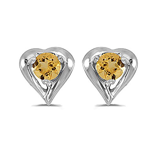 3 Mm Citrine Heart - 2