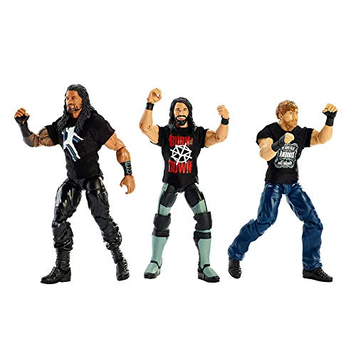 WWE Epic Moments Shield Reunion Action Figure Pack (Wwe The Shield Best Moments)