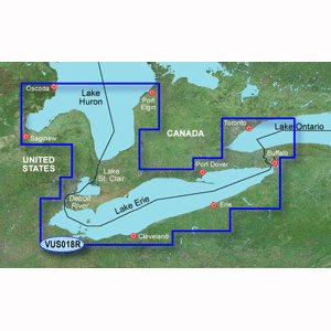 Garmin VUS018R - Lake Erie - Lake St. Clair - SD Card by Garmin
