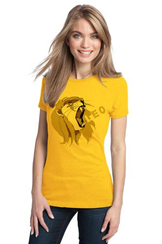 ZODIAC LEO THE LION Ladies' T-shirt / Astrology, Horoscope, Sun, Simha