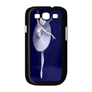 Unique Phone Case Pattern 19Swan-ballet dancer- For Samsung Galaxy S3