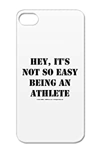 TPU Black Case Cover For Iphone 4s Heyathletetransblk So Athlete Sports Sports Not Its Being Star Miscellaneous Easy Hey An