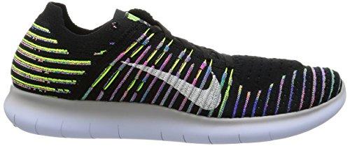 Running Volt RN White Free Men's Black 2017 Flyknit Nike Shoe q6XSnUxw