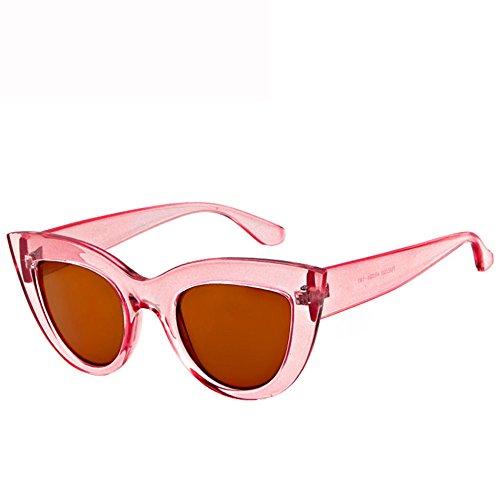 93ee9ddf5d51e GUOHONG-CX Gafas De Sol De Moda Trend Ojo De Gato Ocasional Ciclismo Mirada  Colorida