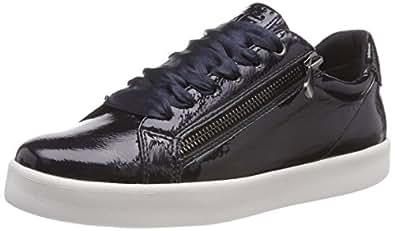 2-2-23775-31, Zapatillas para Mujer, Azul (Navy Patent 826), 39 EU Marco Tozzi