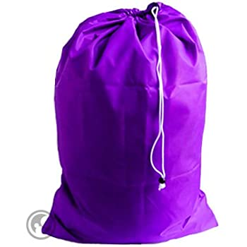 Amazon.com: Large Laundry Bag with Drawstring and Locking Closure ...