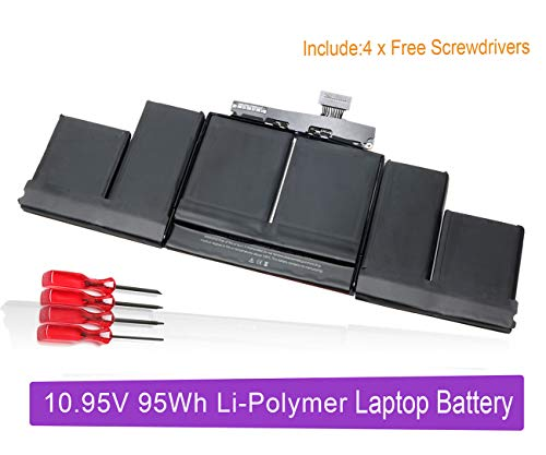 A1417 New Laptop Battery Replacement for A1417 MacBook Pro 15 Inch Retina A1398 (Only fit 2012 Early 2013 Version); P/N: MC975LL/A MC976LL/A ME665LL/A ME664LL/A MD831LL/A