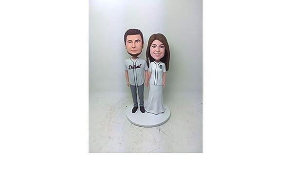 size 40 3b6e9 96aba Amazon.com: Detroit Tigers Custom Bobble Head Girlfriend ...