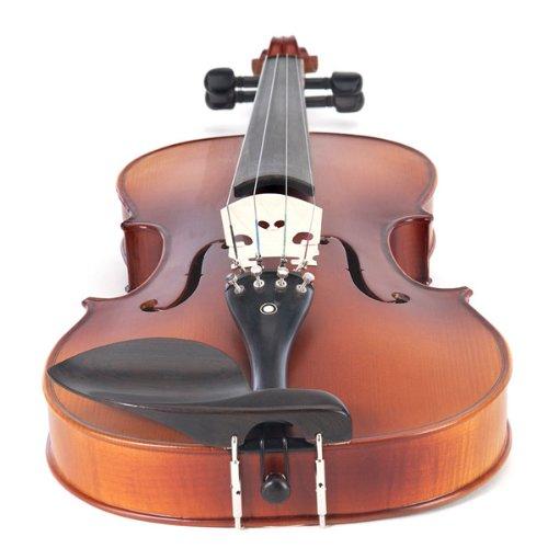 Cecilio CVA-500 16.5-Inch Ebony Fitted Solid Wood Viola by Cecilio (Image #2)