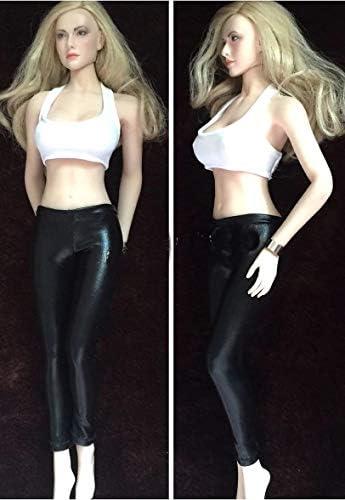 Black Cloth 1//6 Scale Female Action Figure Tie Female Accessories