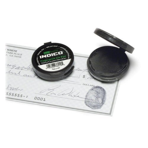 FINGERPRINT INK PAD BLACK by Baumgartens