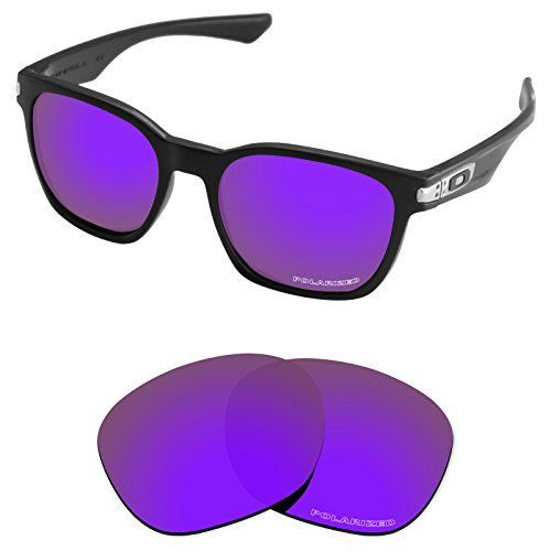 (Tintart Performance Lenses Compatible with Oakley Garage Rock Polarized Etched-Plum Purple)
